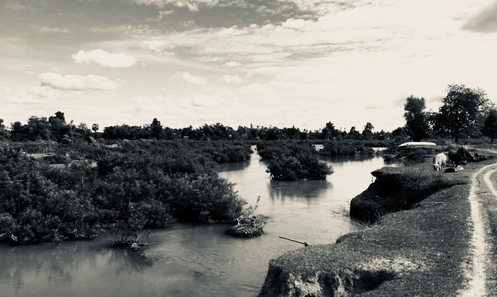 ドンデットののどかな風景