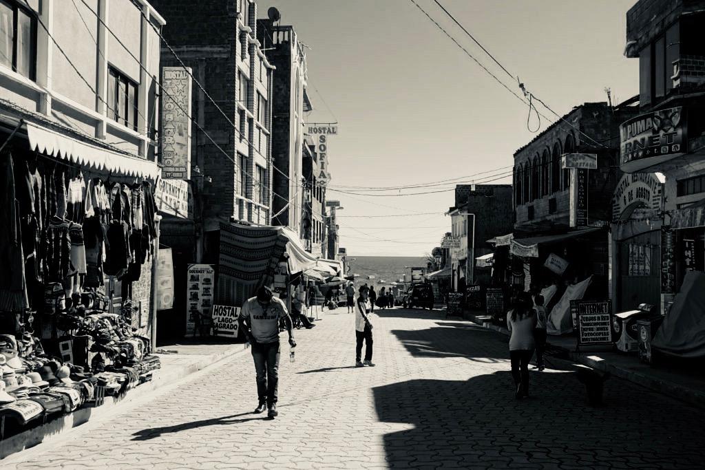 コパカバーナの街角